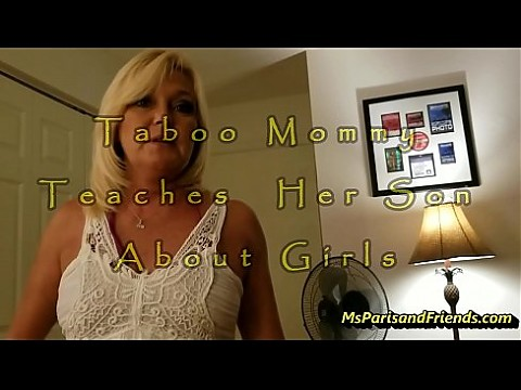 Taboo Mommy Teaches Her Son All About Girls