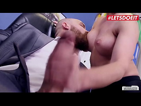 LETSDOEIT - #Izzy Mendosa #Mr. Big Fat Dick - Slutty MILF Secretary Rough Sex With Boss For A Raise