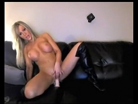 Hot Blonde Rides Dildo on Cam on webcam - combocams.com