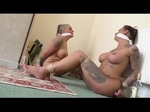 Exotic dancers bound and gagged