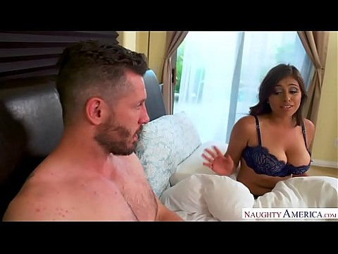 Ella Knox's knockers are huge and natural Naughty America!