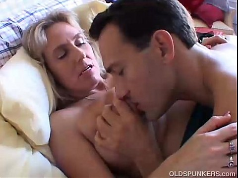 Beautiful busty mature babe boned and blasted