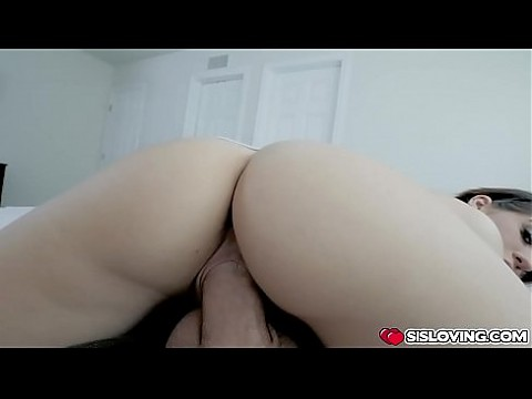 Step bro cock feeding Joseline Kelly for the first time