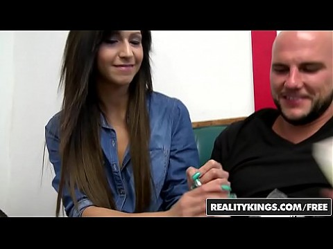 Shy teen (Layla Lopez) will do any thing if the money is right - REALITY KINGS