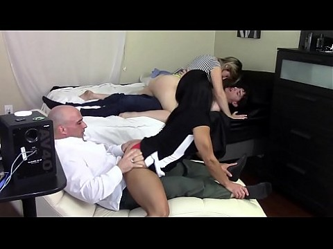 step mom grinds s. s dick while step d. grinds step daddy s dick family taboo