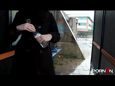 Skinny Teen Pissing ans Stripping in Public