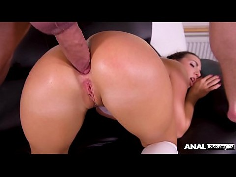 Anal inspectors need to psycho-anal-ize hot schoolgirl Kristy Black's ass