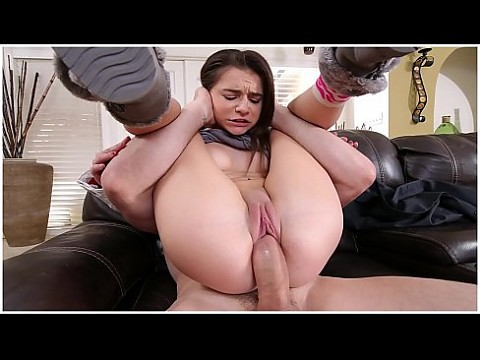 ABUSEME - Teen Babysitter Kharlie Stone Gets Her Tight Pussy Wrecked By J-Mac