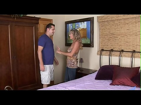 Older chick groans and gets off